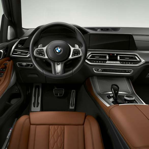 2020 Bmw X5m Competition Interior
