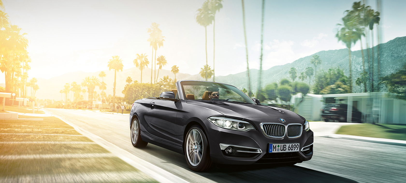 Bmw 2 Series Convertible Combines The Fascination Of Open Top