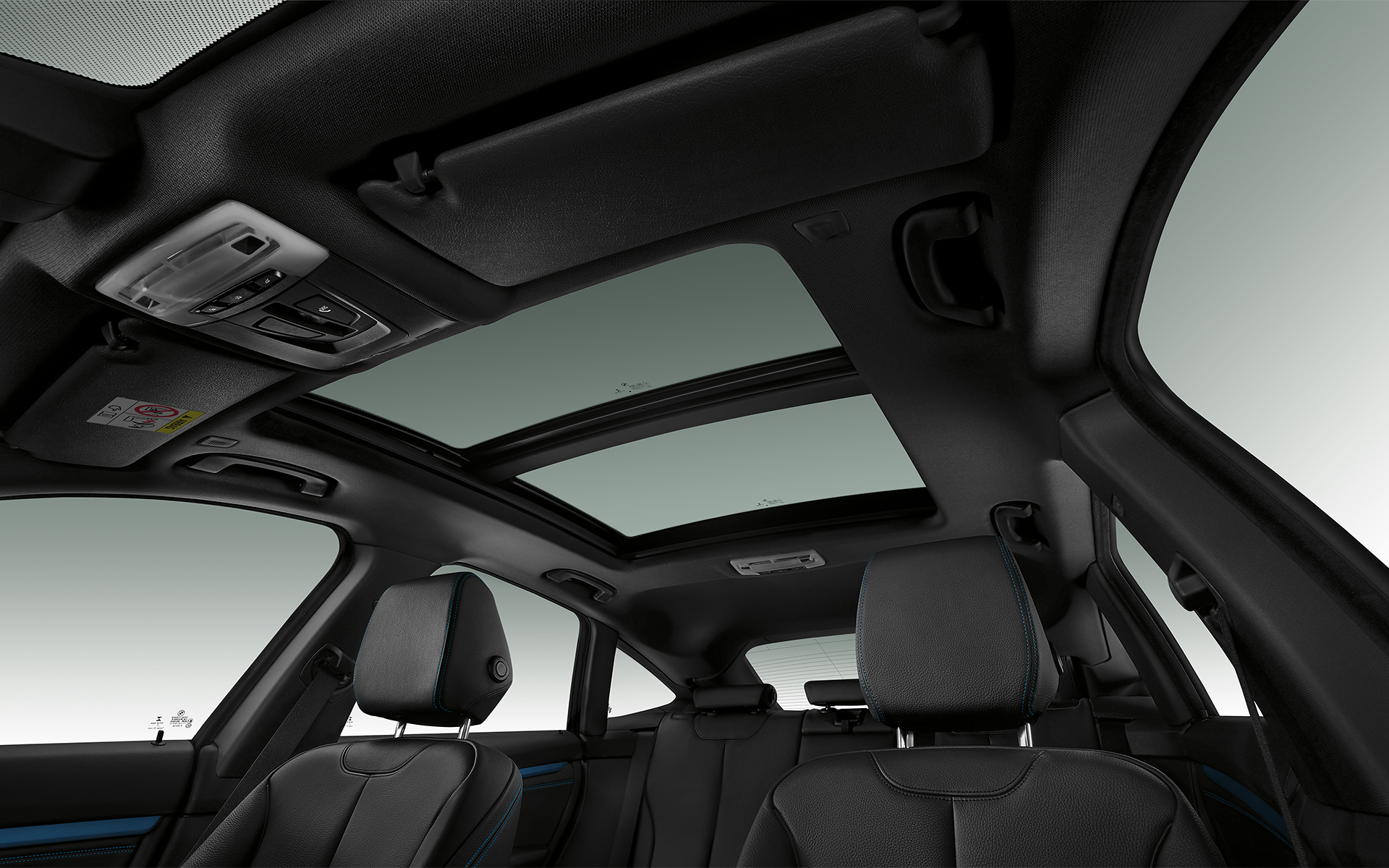 BMW 3 Series Gran Turismo - Interior View sunroof
