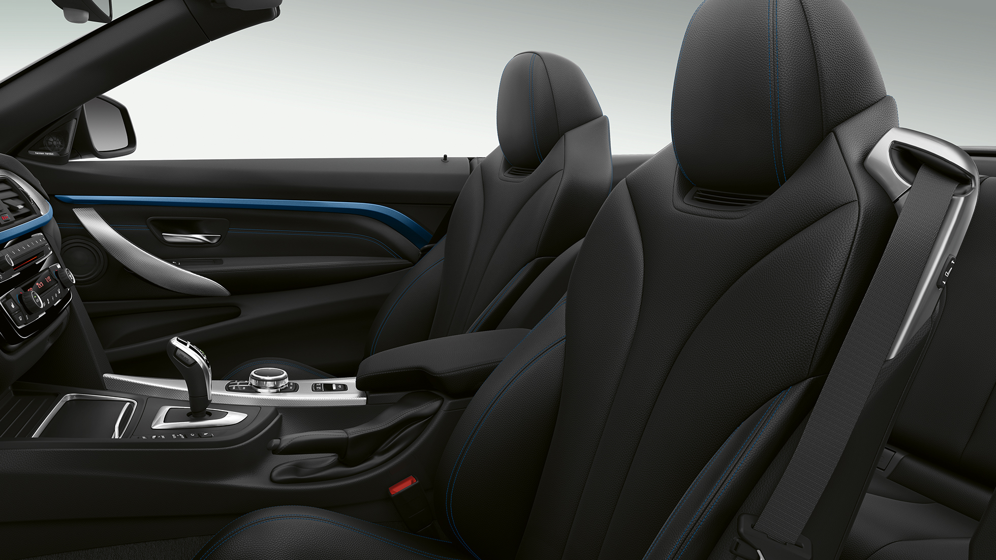 BMW 4 Series Cabriolet, Model M Sport interior