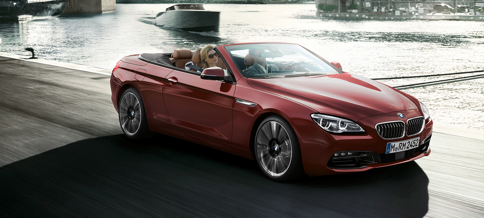 Design each and every facet of the bmw 6 series