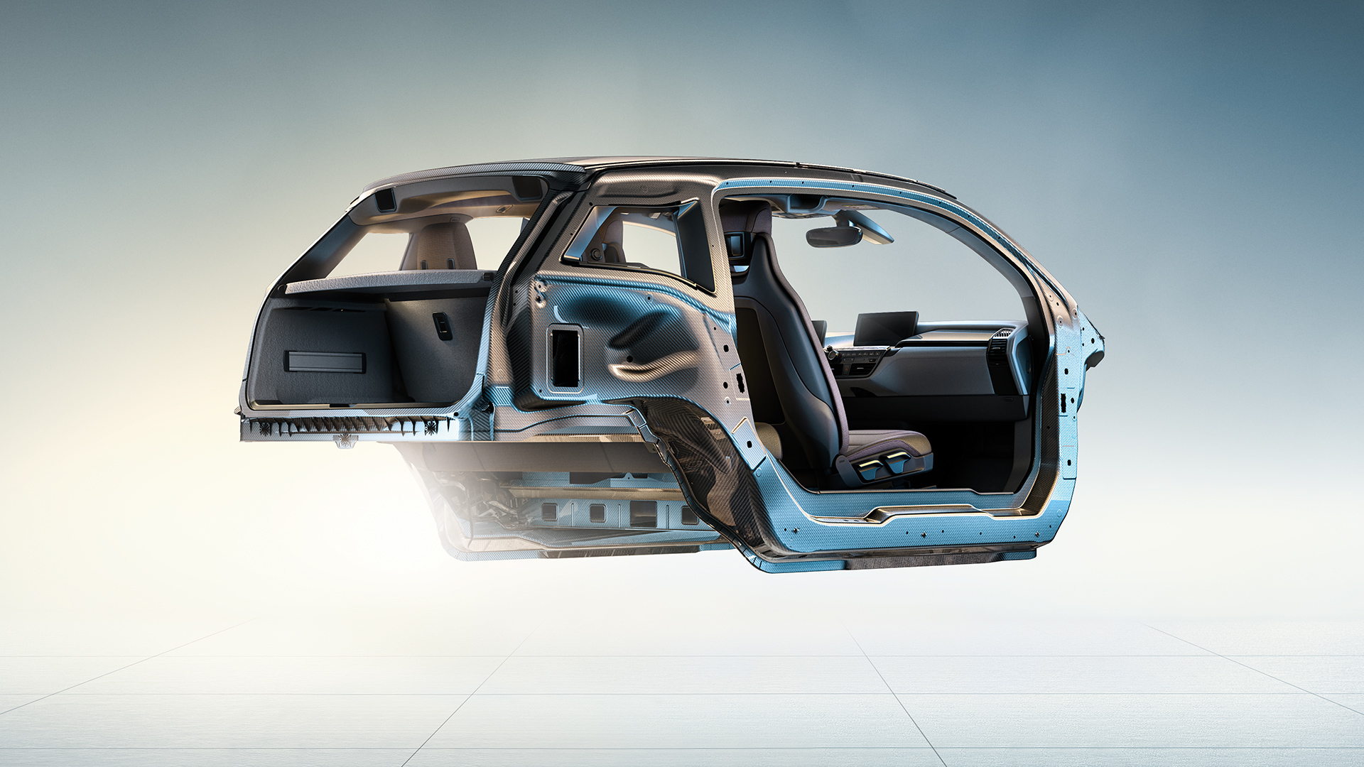 Habitacle de la BMW i3