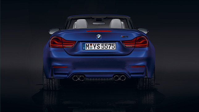 BMW M4 Cabriolet Rear View
