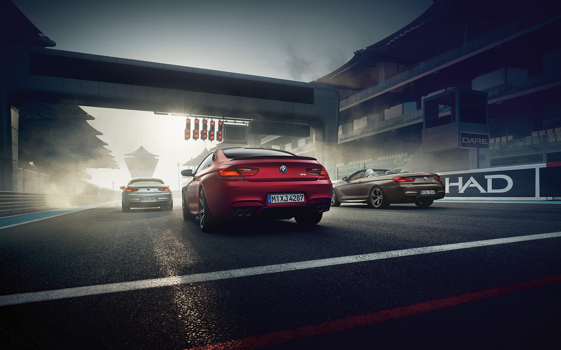 BMW M6 Cabriolet, M4 Coupé and M6 Gran Coupé Rear View