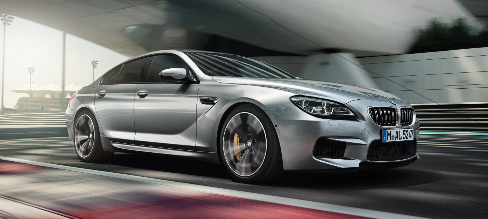 BMW M Series M6 Gran Coupe: luxurious style with elite car features.