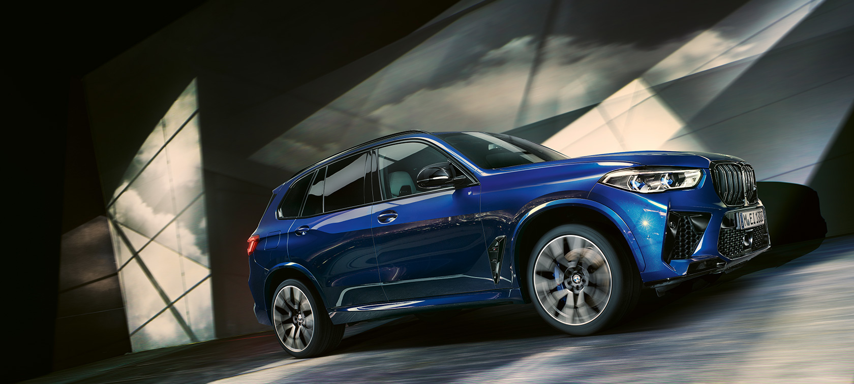 The all-new BMW X5 M ModelsF95 2020