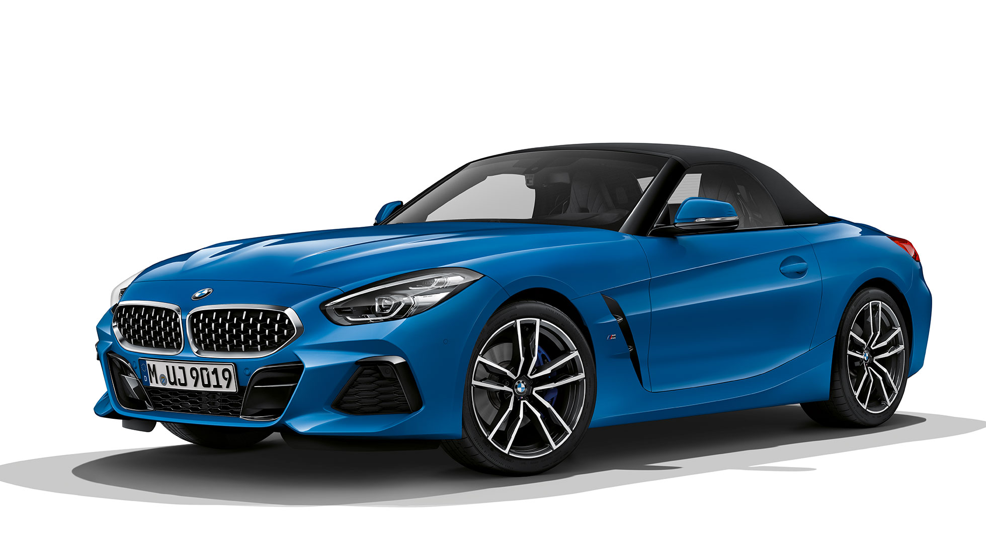 BMW Z4 Roadster M Sport Package, three quarter front shot.