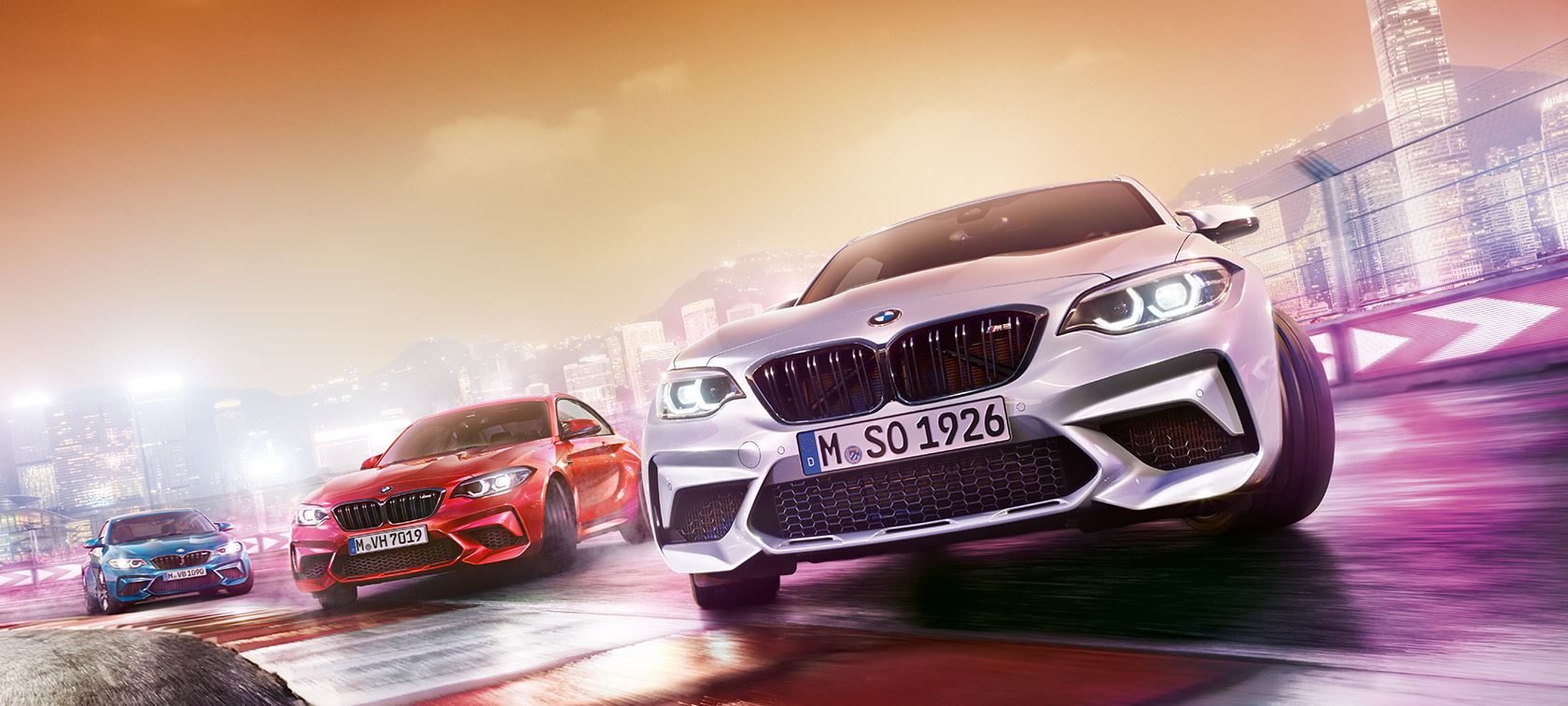 BMW M2 Competition in action