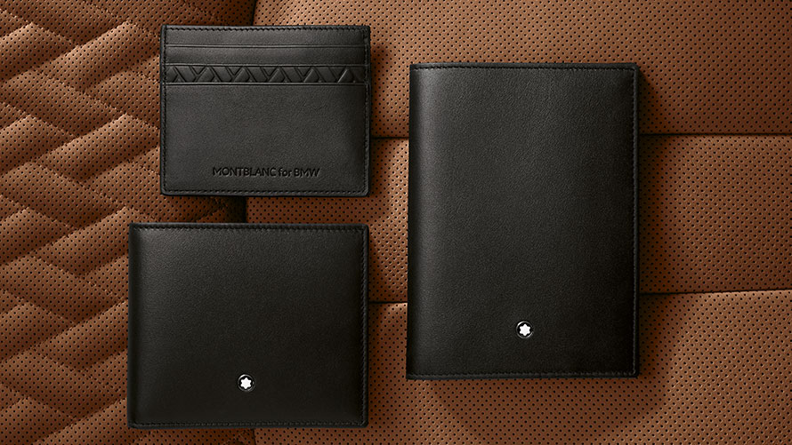 Montblanc for BMW Purses and Card Holders.
