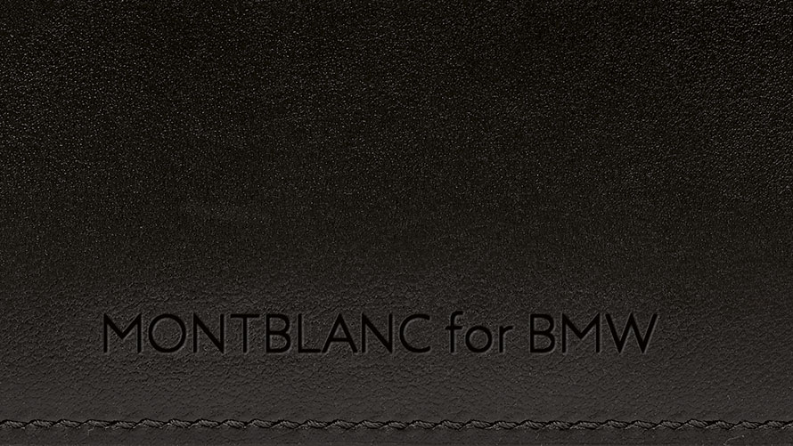 Montblanc for BMW Credit Card Holder.