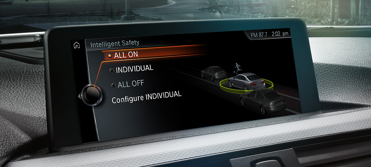 Bmw Driver Assistance Intelligent Driving Bmw Canada