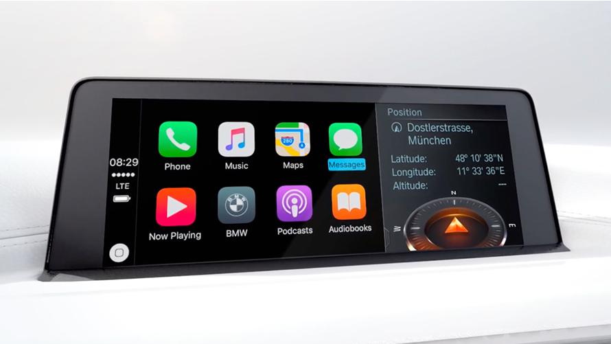 bmw connecteddrive apple carplay bmw canada. Black Bedroom Furniture Sets. Home Design Ideas