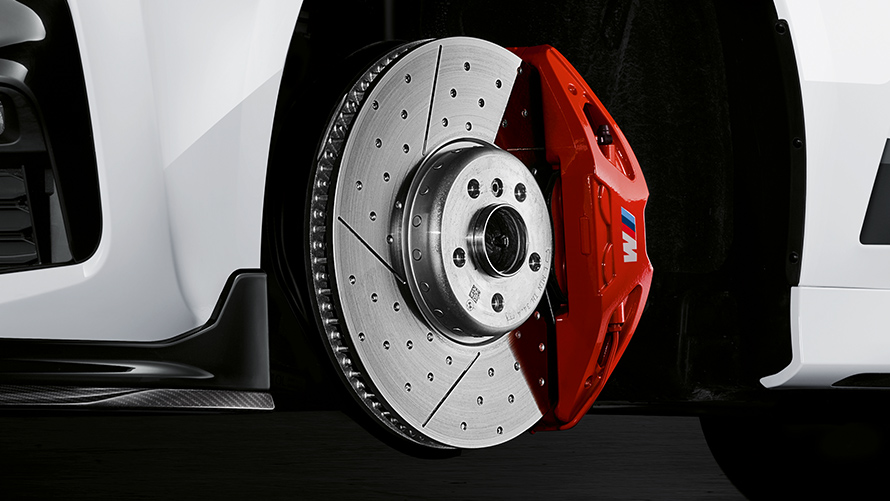 BMW Accessories: car brakes.