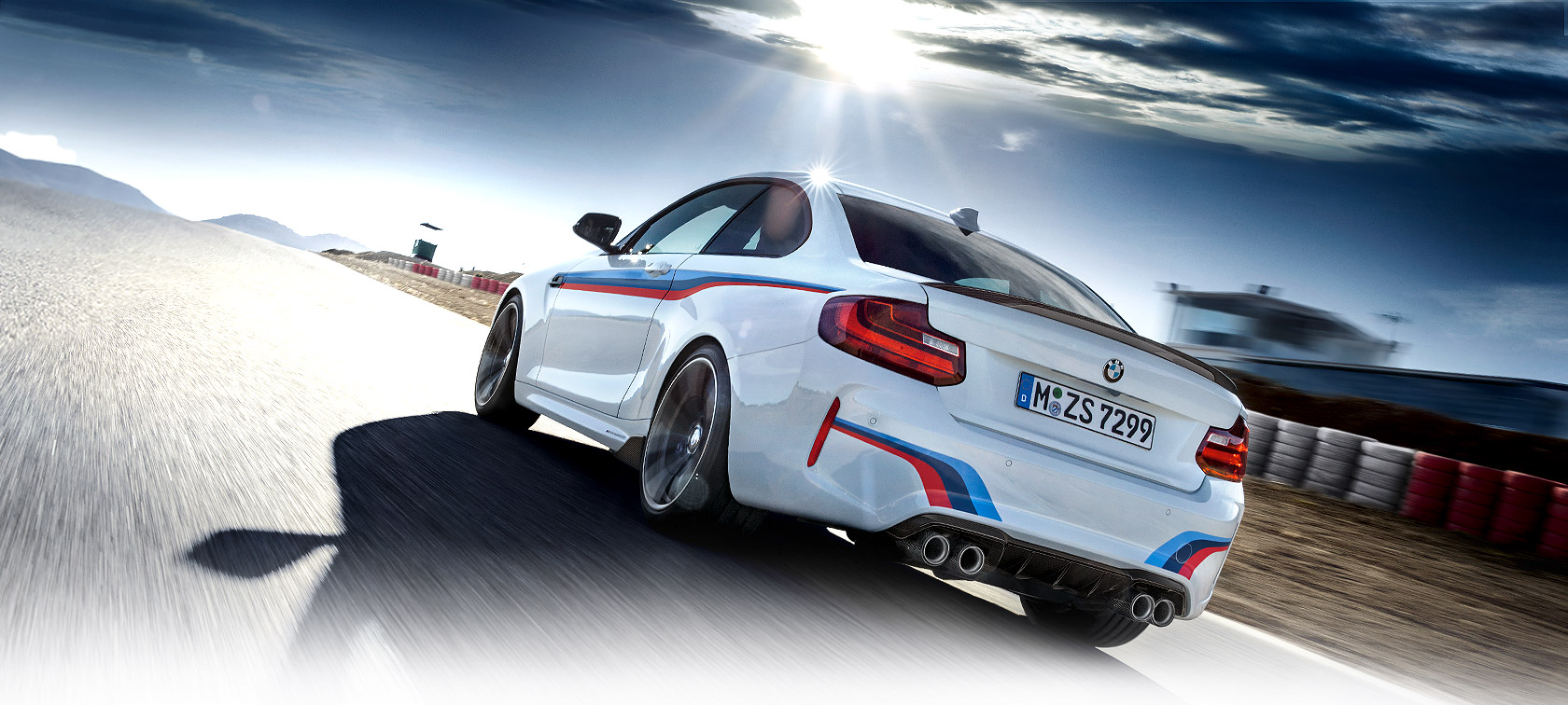 BMW exclusive exterior design and high-performance.