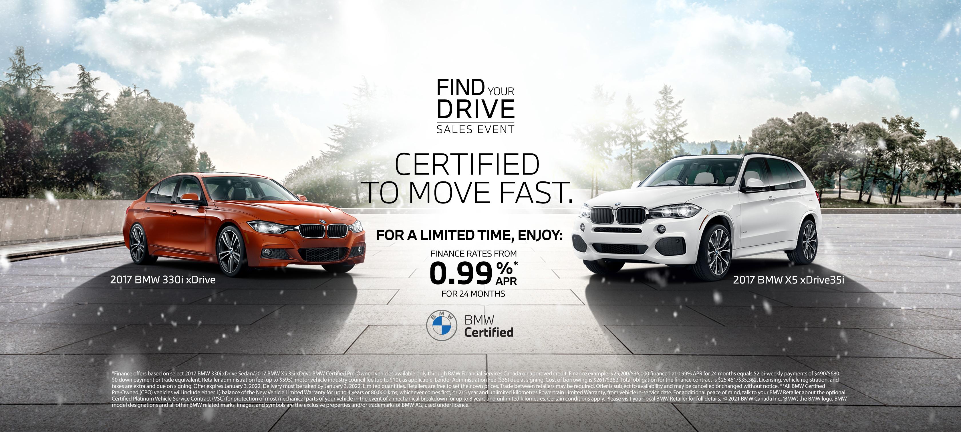 BMW Hero Shot