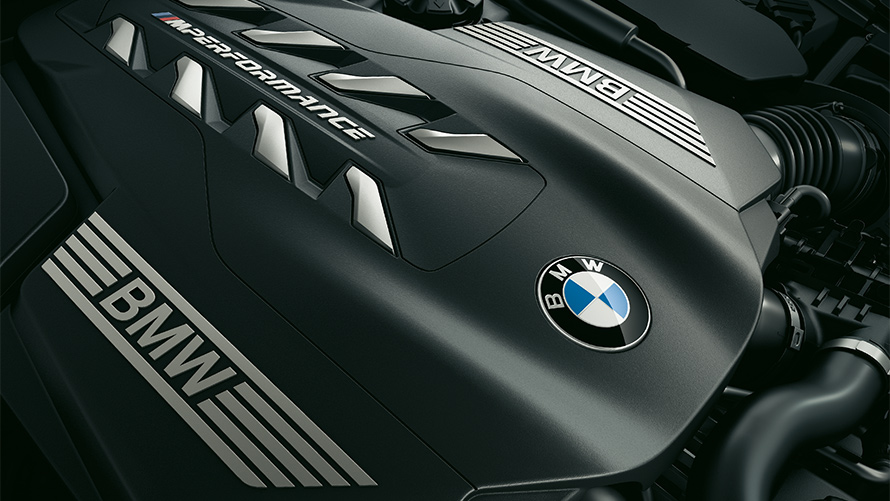 BMW 8 Series Coupe: powerful engine technology.