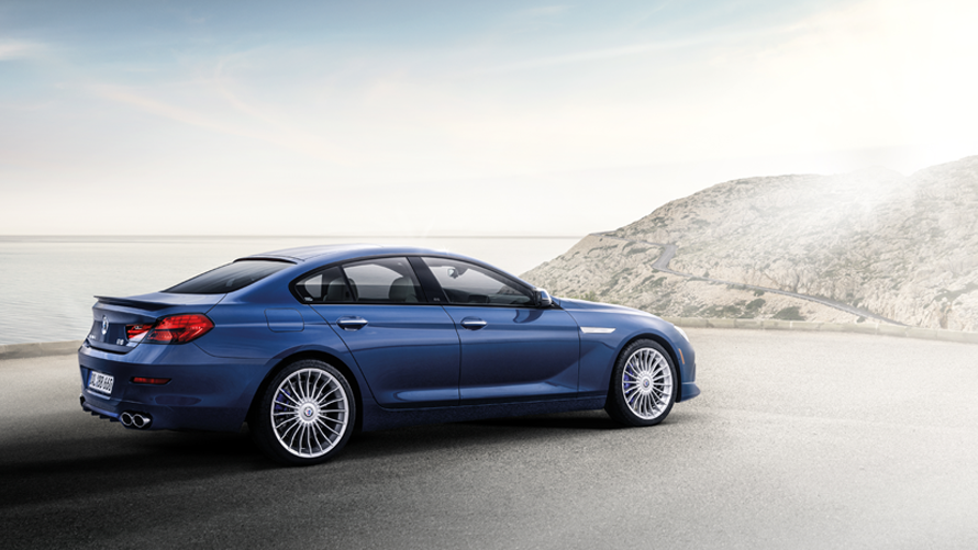 BMW Alpinda B6 Gran Coupe Page