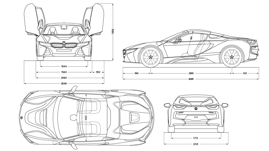 Bmw I8 Roadster Technical Data